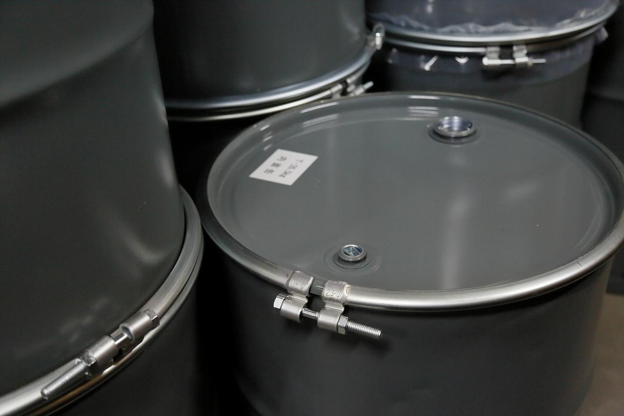 再生ドラム缶の製造・ライン作業